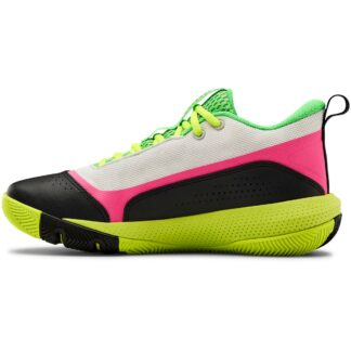 Boty Under Armour GS SC 3ZER0 IV-WHT
