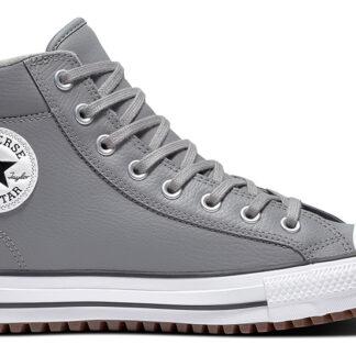 Converse šedé kožené tenisky Chuck Taylor All Star Boot PC