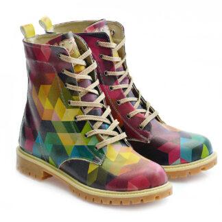 Goby barevné boty Crazy Colors