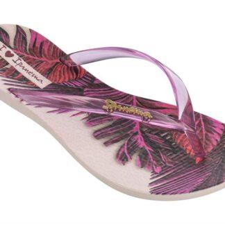 Ipanema růžové žabky Wave Tropical Iii Fem Beige/Pink