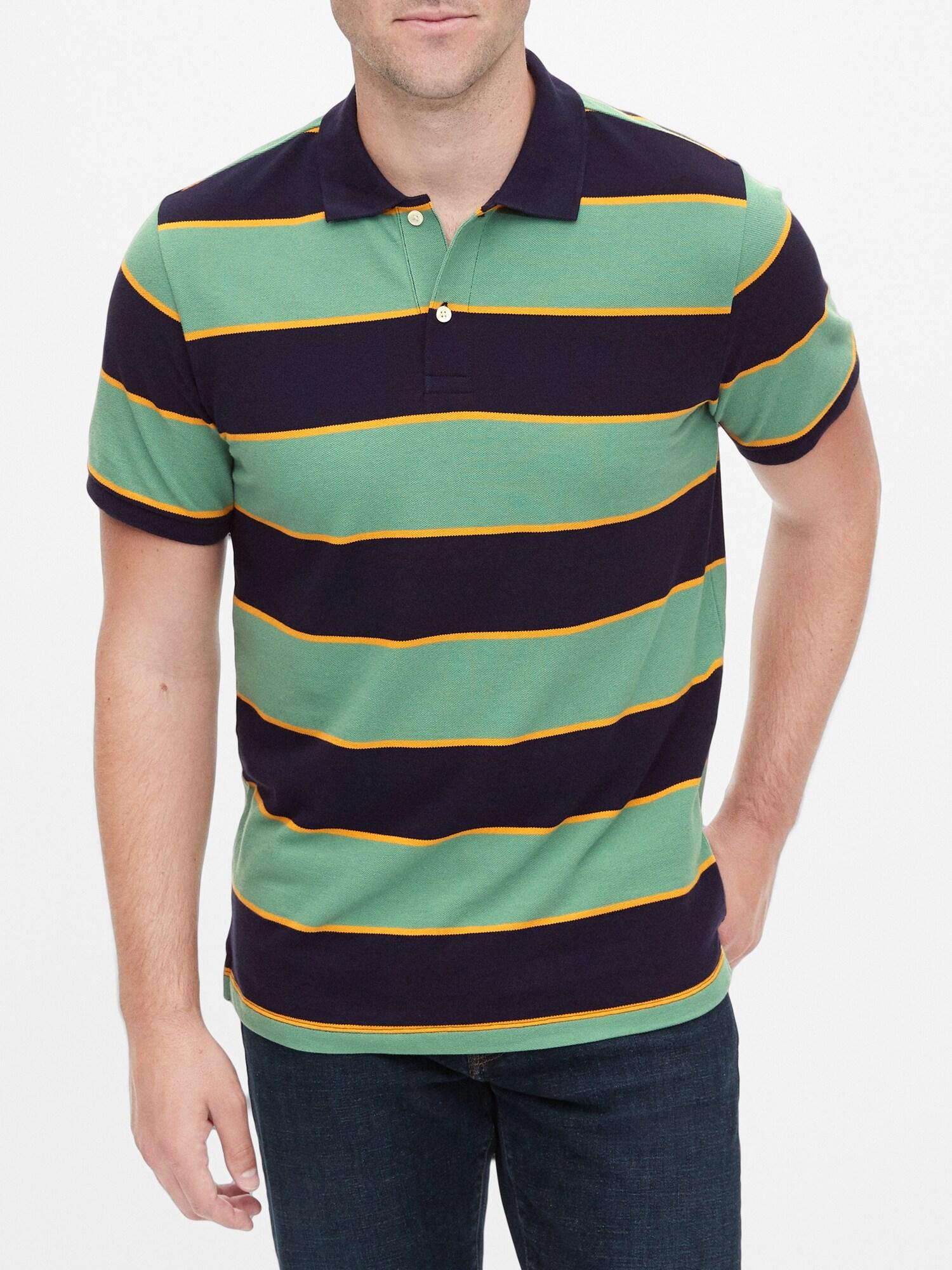 GAP barevné polo pánské tričko
