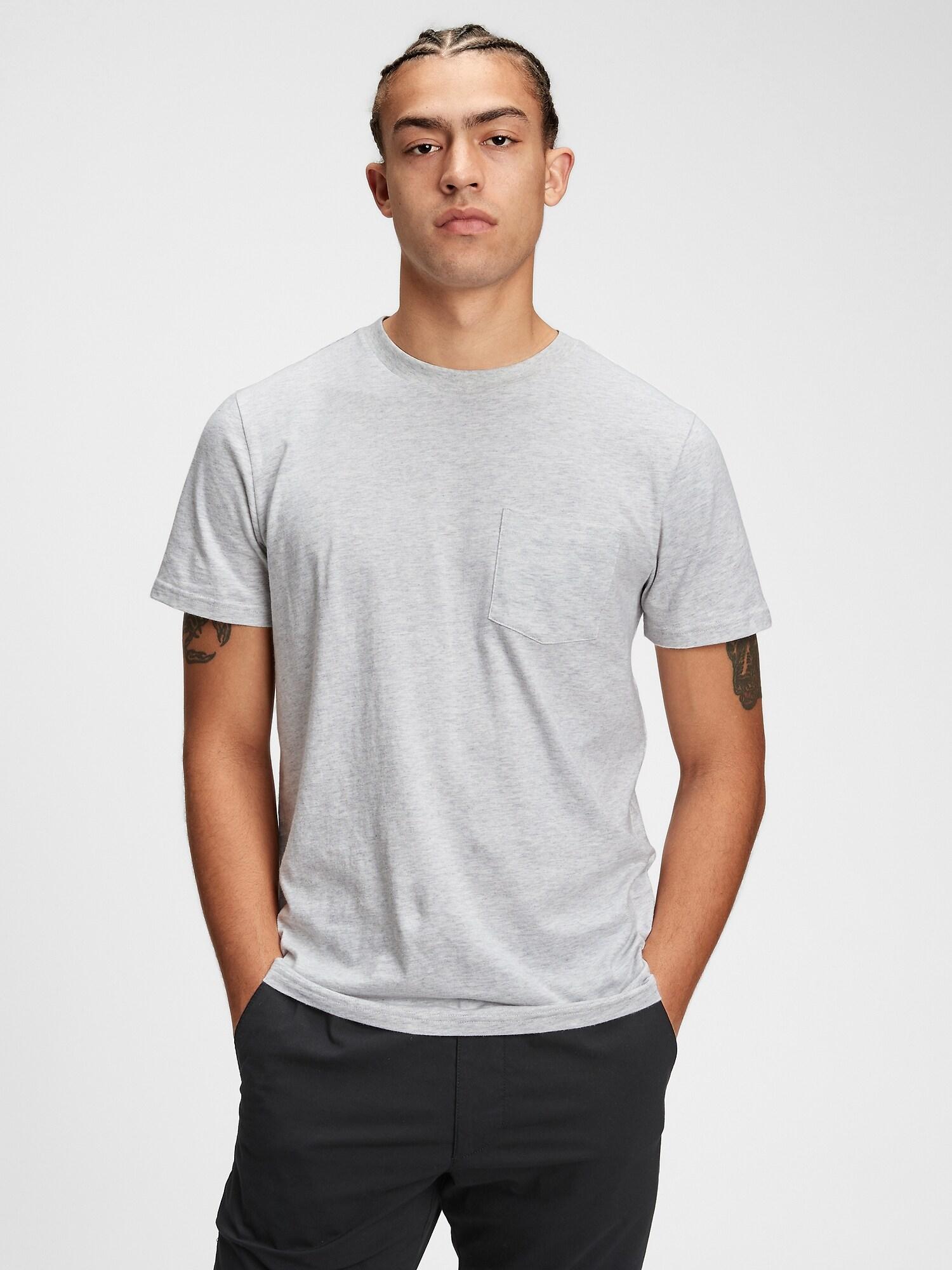 GAP bílé pánské tričko