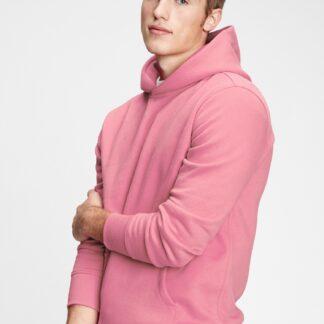 GAP růžová pánská mikina s kapucí