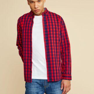 ZOOT červená kostkovaná pánská košile Aiden