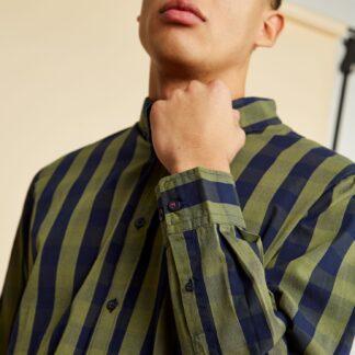 ZOOT modro-zelená kostkovaná pánská košile Richard