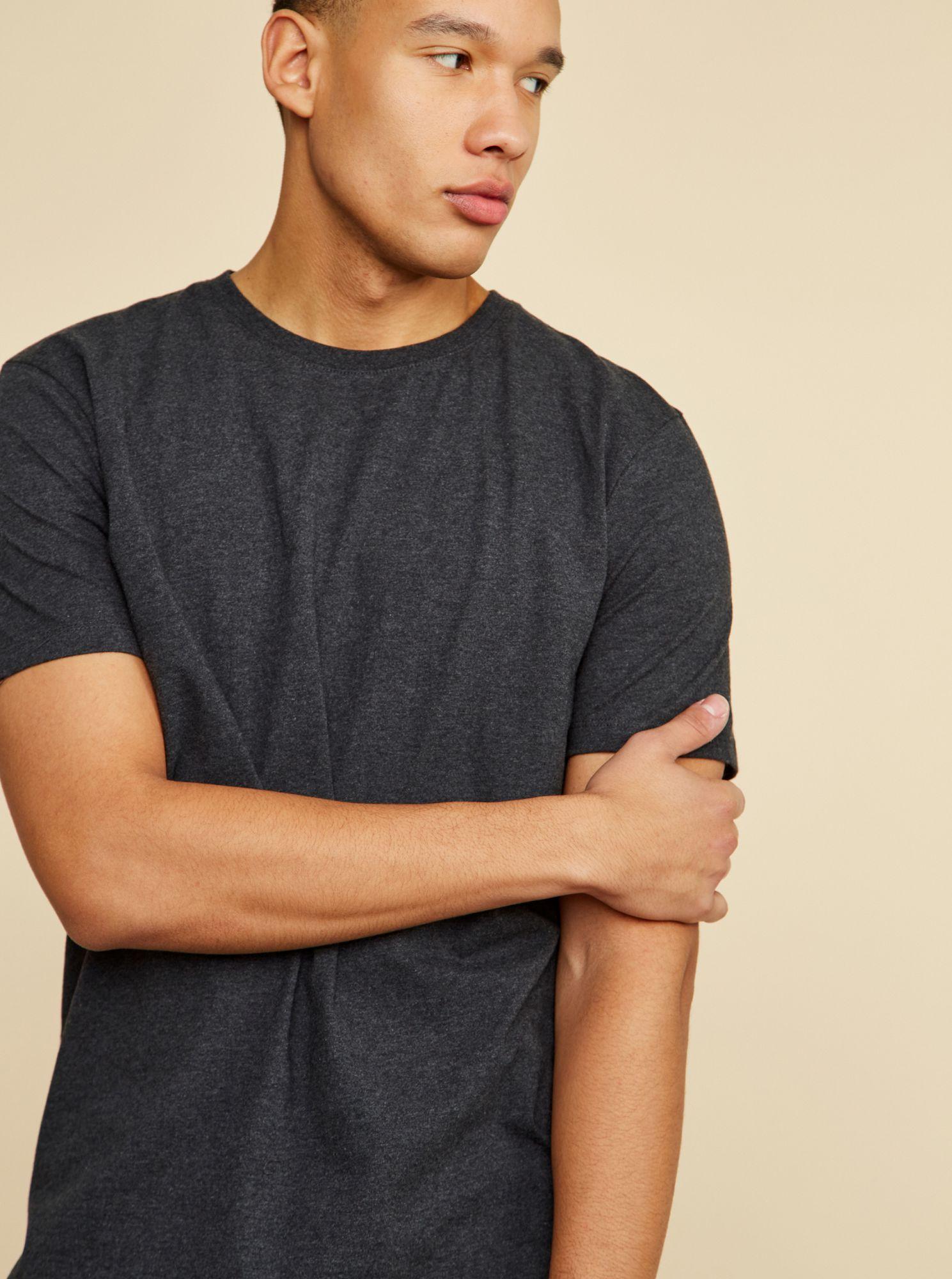ZOOT šedé basic pánské tričko David