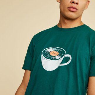 ZOOT zelené pánské tričko Brody s potiskem