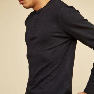 ZOOT černé pánské tričko Henri