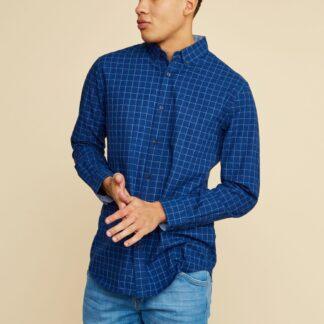 ZOOT modrá pánská kostkovaná košile Richard