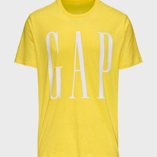 GAP žluté pánské tričko s logem