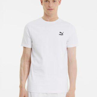 Puma bílé pánské tričko s logem