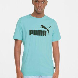 Puma modré pánské tričko s logem