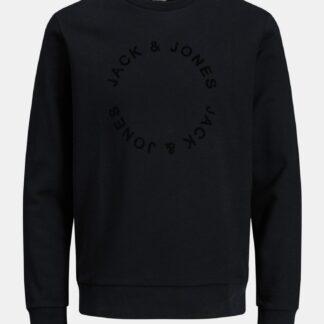 Jack & Jones černá pánská mikina