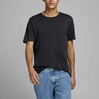 Jack & Jones černé basic pánské tričko