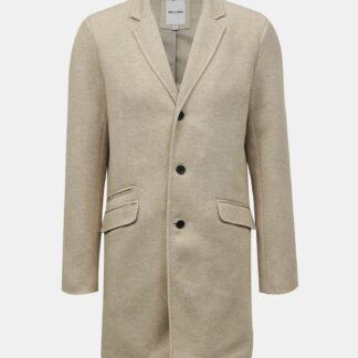 ONLY & SONS béžový kabát Julian