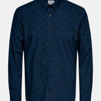 ONLY & SONS modrá pánská košile