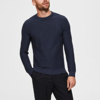 Selected Homme tmavě modrý basic pánský svetr