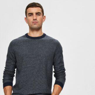 Selected Homme tmavě modrý pánský svetr