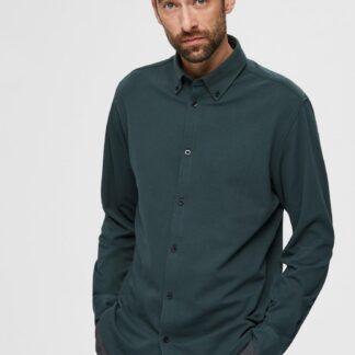 Selected Homme zelená pánská košile