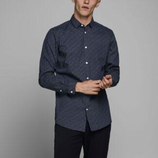 Jack & Jones tmavě modrá košile
