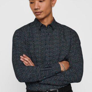 ONLY & SONS černá pánská košile