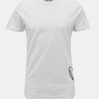 Jack & Jones bílé pánské tričko