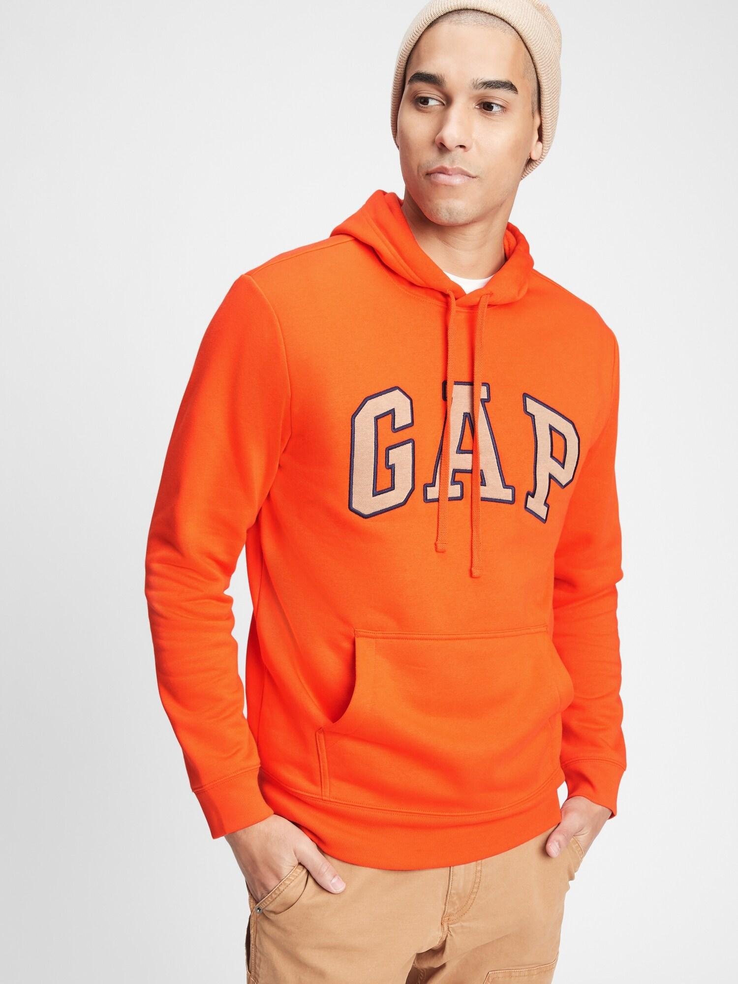GAP oranžová pánská mikina