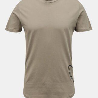 Jack & Jones béžové pánské tričko