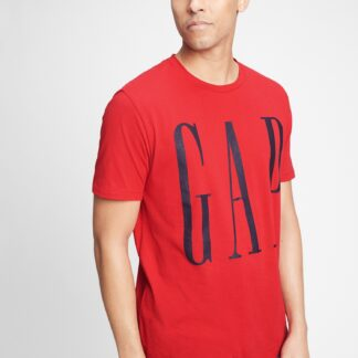 GAP červené pánské tričko s logem