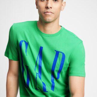 GAP zelené pánské tričko s logem