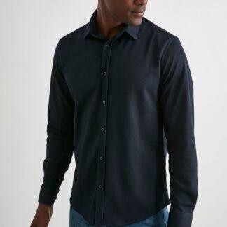 Trendyol tmavě modrá pánská košile