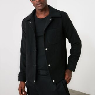 Trendyol černá pánská bunda