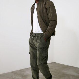 Trendyol khaki pánské kalhoty