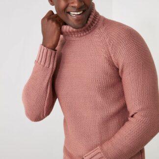 Trendyol růžový pánský svetr