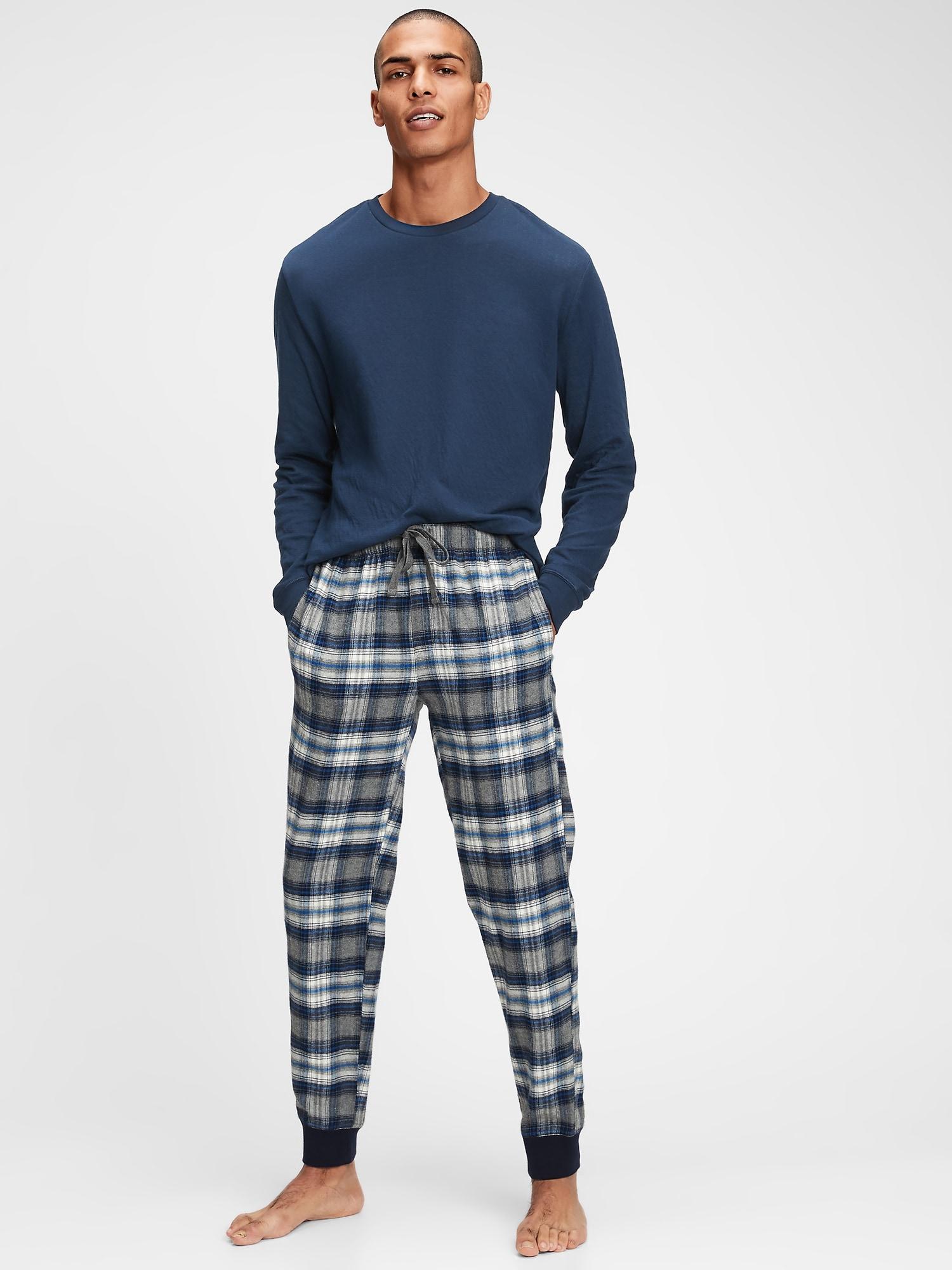 GAP šedé pánské pyžamové kalhoty