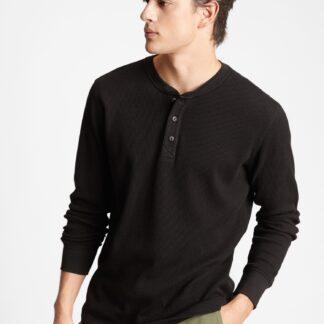 GAP černé pánské tričko