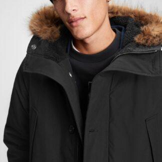 GAP černý pánský kabát