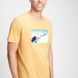 GAP žluté pánské tričko