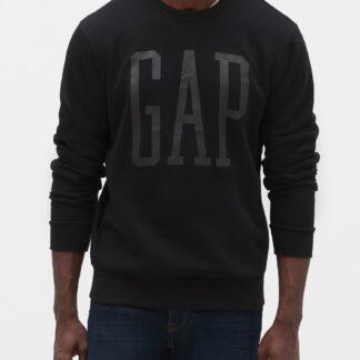 GAP černá pánská mikina