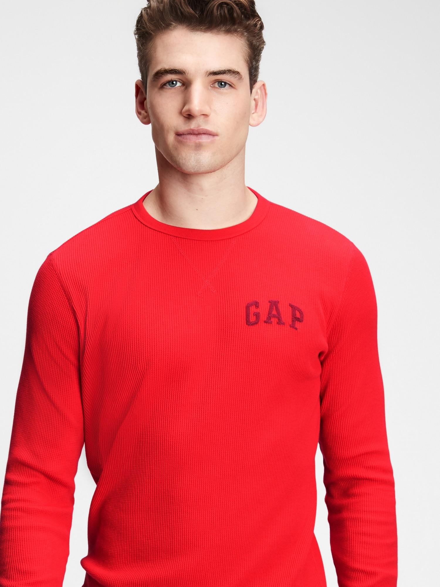 GAP červené pánské tričko