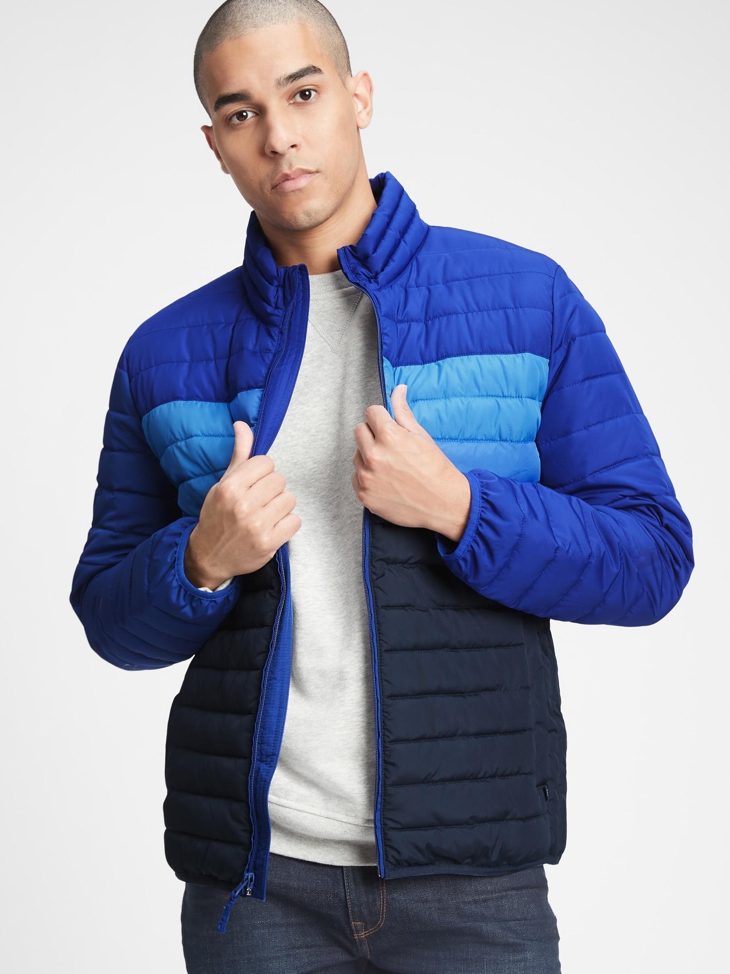 GAP modrá pánská bunda