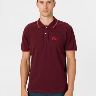 GAP červené pánské polo tričko