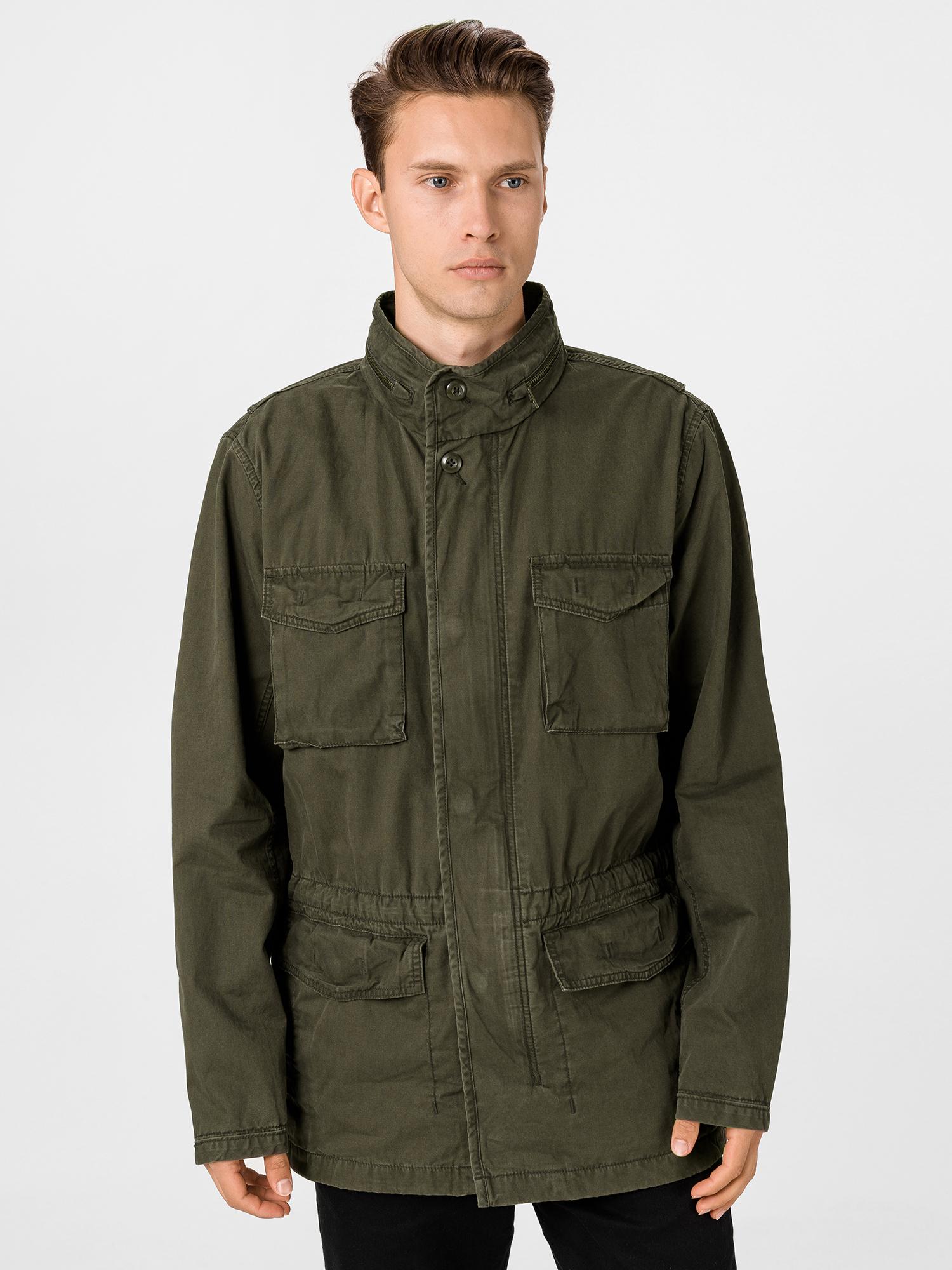 GAP zelený pánský kabát