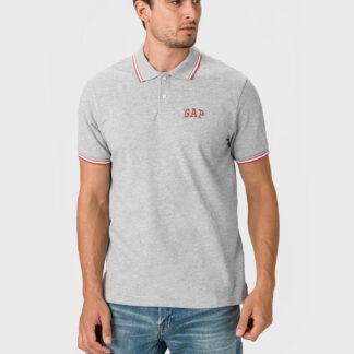 GAP šedé pánské tričko s logem