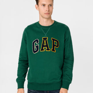 GAP zelená pánská mikina