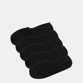 Jack & Jones černý 5 pack ponožek Basic