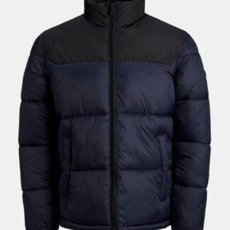 Jack & Jones tmavě modrá pánská bunda Drew