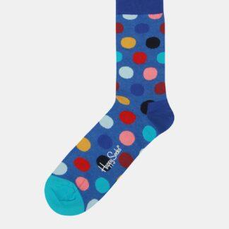 Modré puntíkované ponožky Happy Socks Big Dot