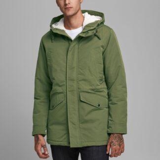 Jack & Jones zelená pánská bunda