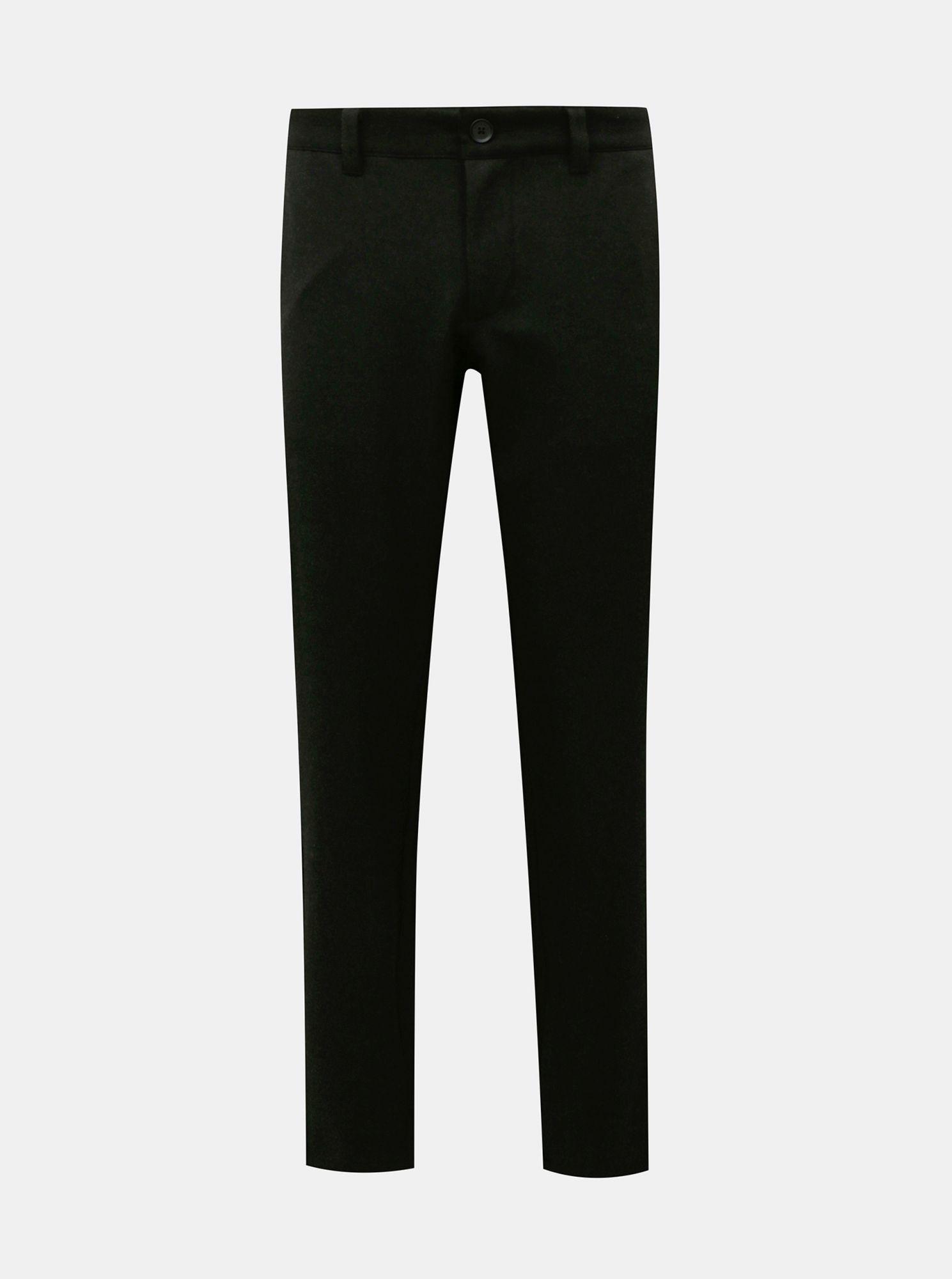 ONLY & SONS černé pánské kalhoty Mark